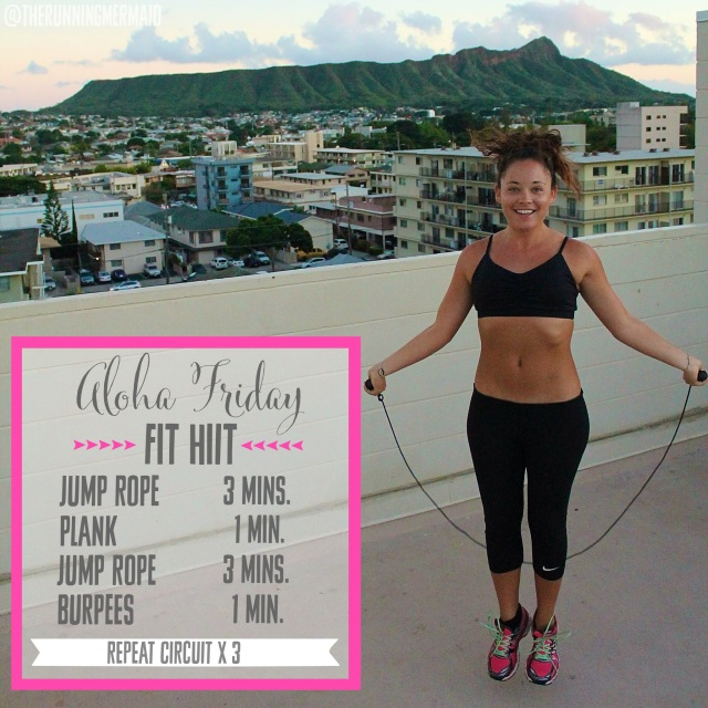 Aloha Friday Fit HIIT Week 3