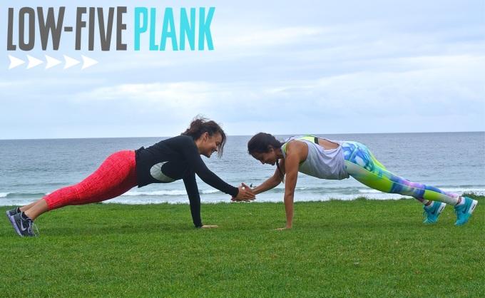 Low Five Plank